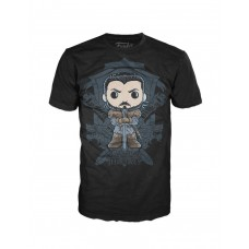 Camiseta Pop Funko Game of Thrones Jon Snow Crast