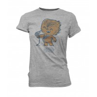 Camiseta Pop Star Wars Chewbacca Hair Dryer Funko Original